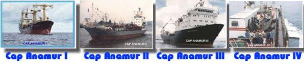 "Những con tàu ""Cap Anamur I, II, III và IV"""