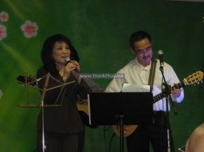 Tối thứ bảy 13 tháng 8, với Nhạc Sĩ Minh Hải (photo: Thanh Châu)