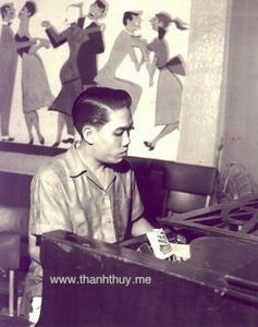 Nhạc sĩ Lê Văn Thiện năm 1964