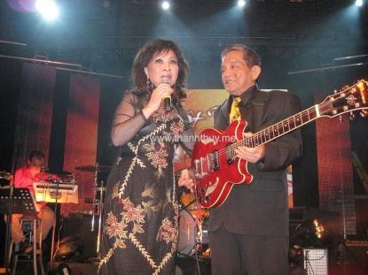 Nữ danh ca Thanh Thúy và nhạc sĩ Hoàng Liêm