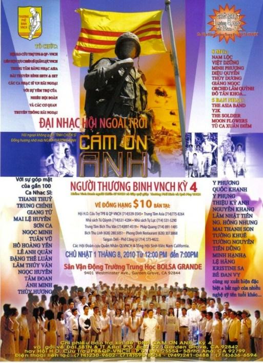 Poster Kỳ 4, tại Quận Cam, Nam Cali, 2010