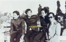 từ trái: Hoàng Liêm, Duy Khiêm, Ngọc Chánh và Elvis Phương