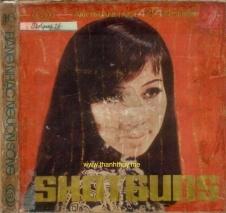 Ảnh Thanh Thúy trên bìa một cuốn băng nhạc Shotguns