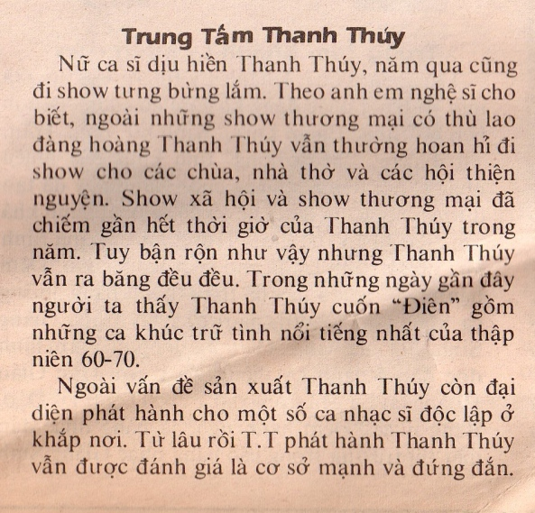 TT Thanh Thuy
