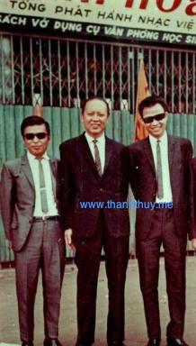 Từ trái sang phải: Anh Bằng – Minh Kỳ và Lê Dinh