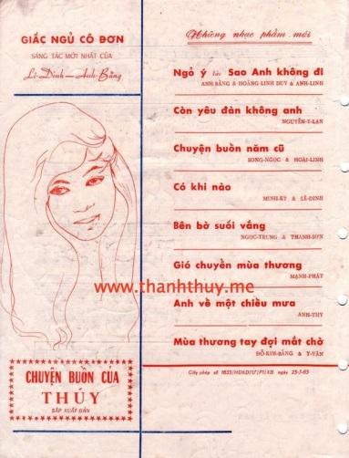 bia sau Chuyen buon cua Thuy