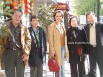 NS Hoàng Sa, NS Phạm Mạnh Cương, Bích Xuân, Phu Nhân và NS Lê Dinh