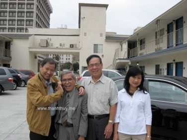 Các Nhạc Sĩ Lê Dinh, Anh Bằng, Trường Sa và phu nhân