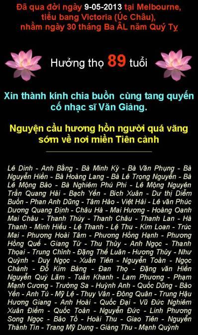 2013 Phan Uu Nhac Si Van Giang B