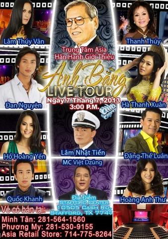 Anh Bang live tour