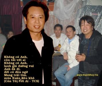 Duy Tâm, TQB và những đêm ở Bleu Club những năm 2002-2003, thời Anh Tú thường xuyên ghé đến góp tình.