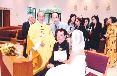 Đám cưới Việt Dzũng và BêBê Hoàng Anh