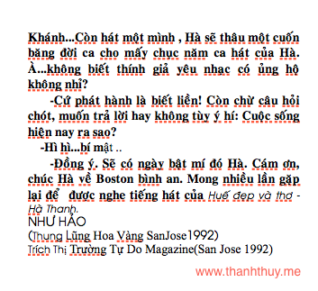 Ha Thanh, Hue dep va tho 3