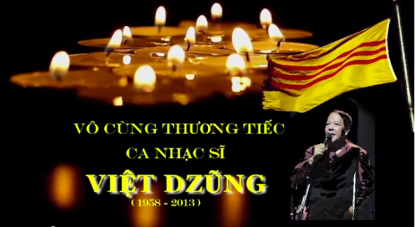 Viet Dung, vo cung thuong tiec