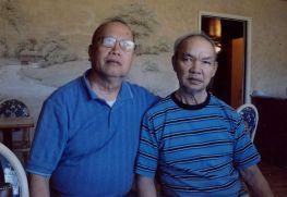 Ảnh chụp soạn giả Hương Sắc trước vài năm Ông mất