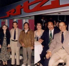 Đêm dạ vũ chào đón soạn giả Hương Sắc đến Hoa Kỳ được tổ chức năm 1994 tại vũ trường Ritz.