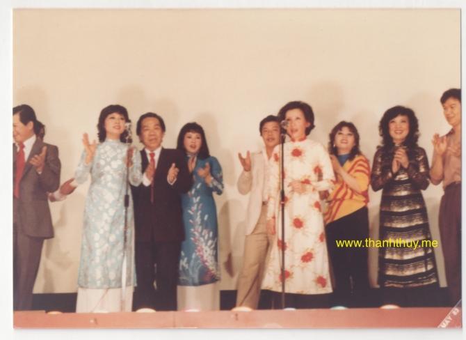 ĐNH chào mừng Quái Kiệt Trần Văn Trạch đến Hoa Kỳ lần đầu tiên vào năm 1981