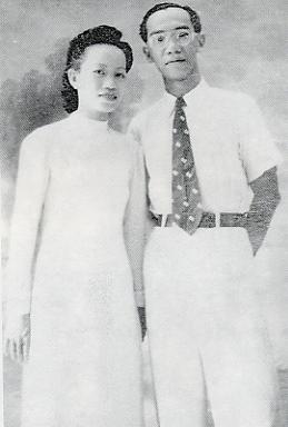 Trần Văn Khê và Nguyễn Thị Sương (1949)