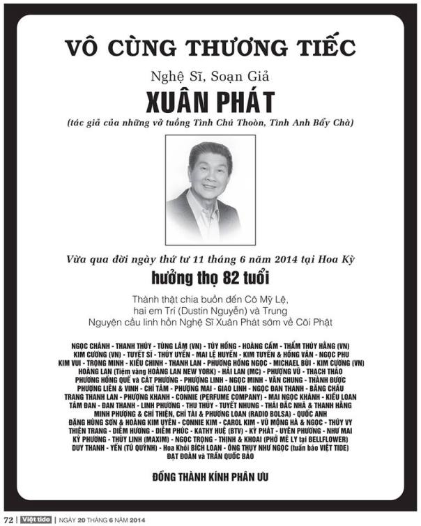 Xuan Phat - phan uu