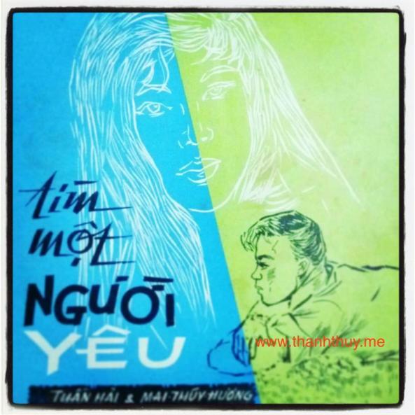 Hình vẽ ca sĩ Thanh Thúy trên một tờ nhạc của họa sỹ Sĩ Thanh năm 1964 copy