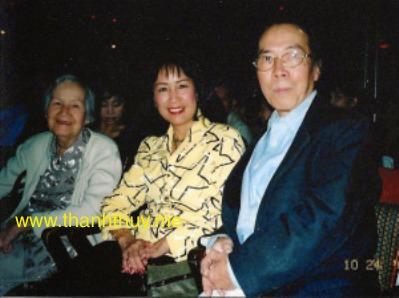 Minh Trang, Quỳnh Giao, Đinh Cường (California 2004)