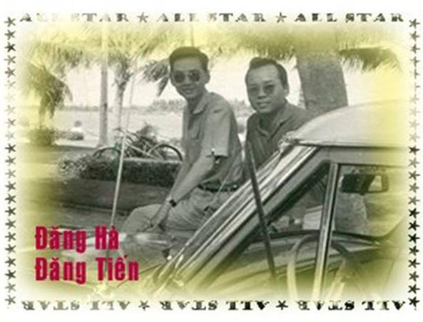 Hai anh em ruột Đăng Hà - Đăng Tiến đều là những nhạc sĩ tài danh của làng nhạc Sàigòn thập niên 50, 60, 70