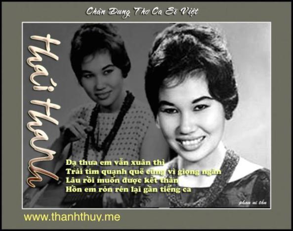 Thai Thanh, tho Phan Ni Tan