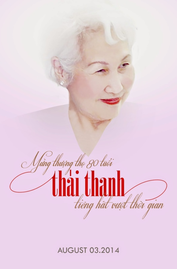 Chúc mừng sinh nhật Nữ Danh Ca Thái Thanh