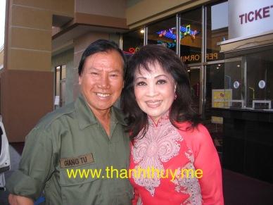 Giang Tử, Thanh Thúy (photo: Thanh Châu)