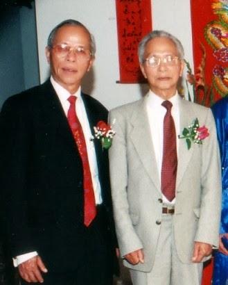 từ trái: Vũ Hối, Vũ Ký