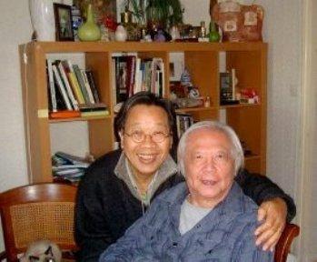 Nhạc Sĩ Trần Quang Hải đến thăm Nhạc Sĩ Lê Trạch Lựu (10/2009)