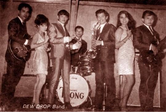 Khánh Băng và những cộng tác với ban nhạc The Dew Drop Band