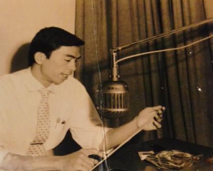 Nghệ sĩ Hải Nam gắn bó với nghề truyền thanh từ những năm 1957.