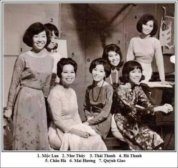 Moc Lan, Nhu Thu, TT, HT, Chau Ha, MH. QG
