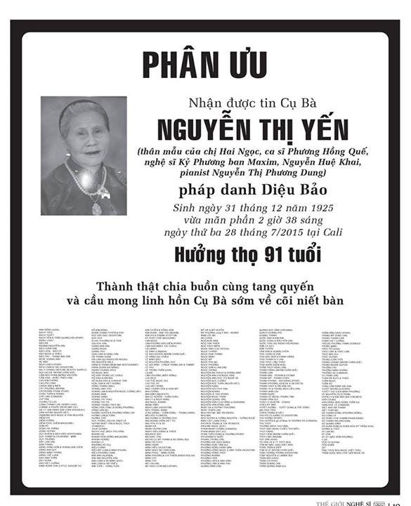 phan uu ba Nguyen thi Yen