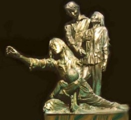 """Tượng """"Thuyền Nhân"""" - cho Đài Tưởng Niệm Thuyền Nhân ở Nam California"""