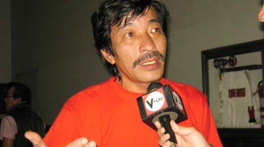 Nghệ sĩ Kiều Linh trả lời phỏng vấn truyền thông. (Hình: Trần Quốc Bảo cung cấp)
