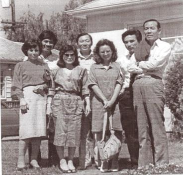 Ô/B Từ Công Phụng, Ô/B Trúc Ly, Ngọc Lan, Đỗ Vẫn Trọn, Mai Thảo năm 1983 tại Portland