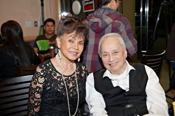 Nữ tài tử Kim Vui và nhạc sĩ Lam Phương