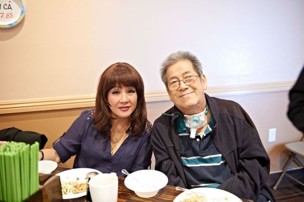 Minh Xuân – Minh Phúc cười tươi cả buổi