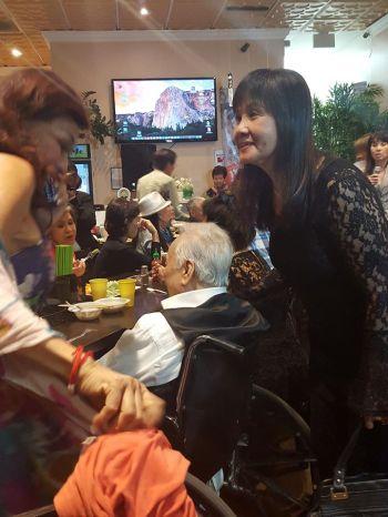 Kim Loan, Lam Phương, Ngọc Minh lâu quá mới gặp lại nhau