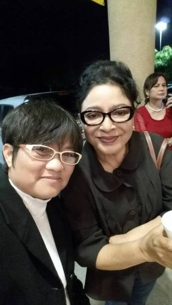 Bebe và Julie Quang