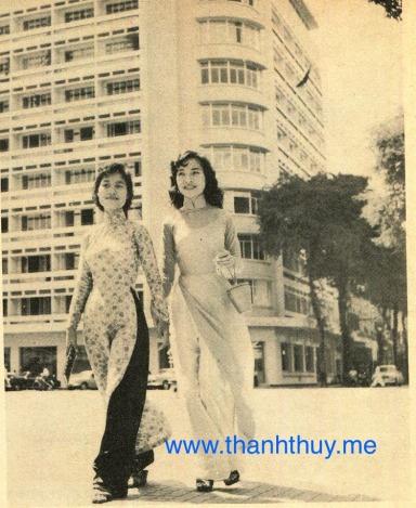 Thanh Hương, Thanh Thúy trên đường phố Saigon đầu thập niên 60