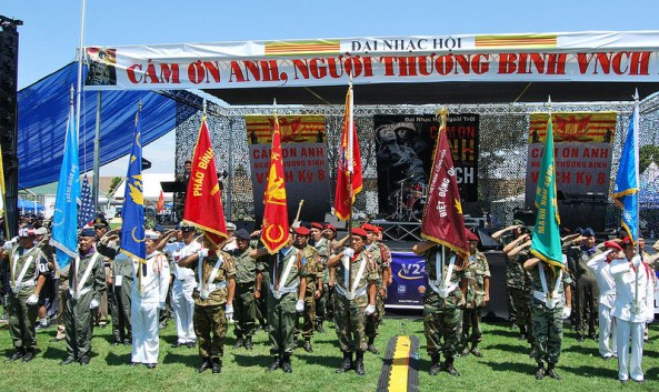 Quang cảnh Đại Nhạc Hội gây quỹ giúp TPB:VNCH tại nam California