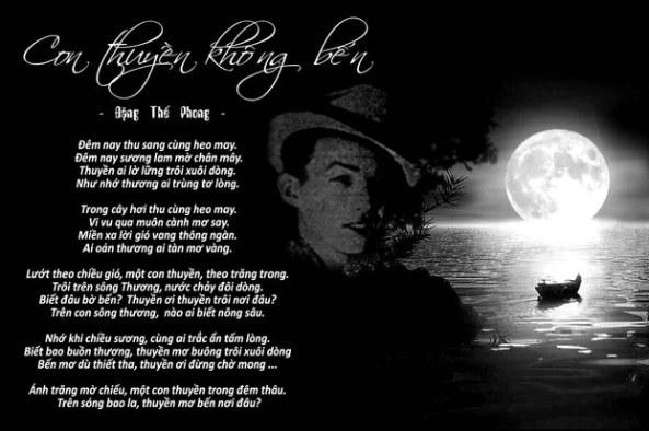 Nhạc sĩ Đặng Thế Phong và sáng tác Con thuyền không bến.