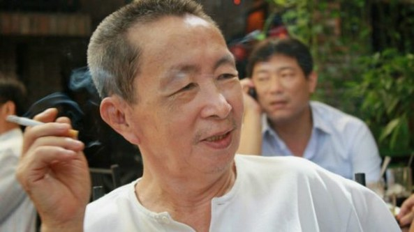 Nhà văn Dương Nghiễm Mậu, Photo by Lý Đợi