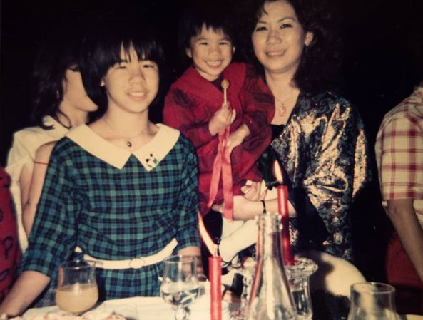 Thiên Nga và 2 con gái yêu quý