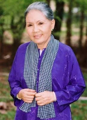 Bức ảnh này do chính Út Bạch Lan chọn cho mình dành lo hậu sự ngày cuối đời.