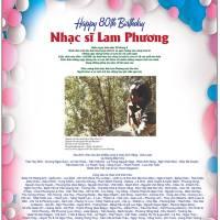 Chúc mừng sinh nhật Nhạc Sĩ Lam Phương!