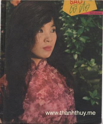 """Ảnh Thanh Thúy trên bìa bản nhạc """"Sầu cố đô"""""""